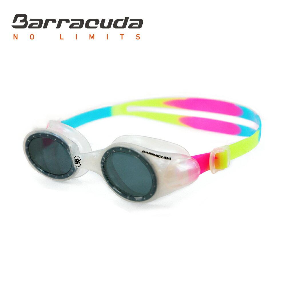 美國巴洛酷達Barracuda兒童競技型抗UV防霧泳鏡-UVIOLET#33620 2