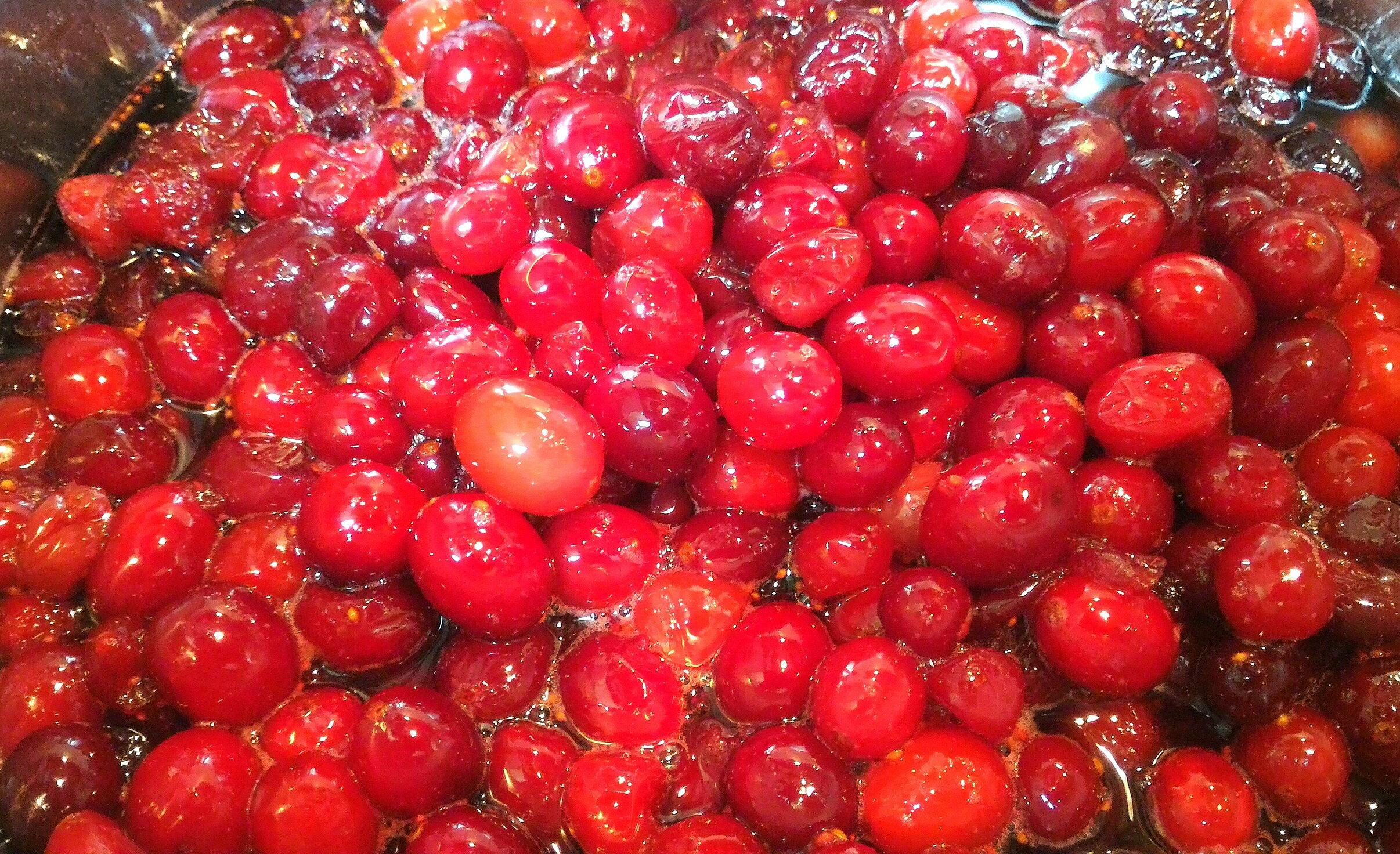 熊窩手作工坊-堅持純手工製作~100%原汁原味~蔓越莓鮮水果醬~特價180元 1