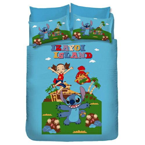 史迪奇-歡樂篇雙人床包被套組 0