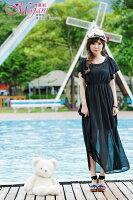 時尚洋裝 小禮服推薦到[瑪嘉妮Majani]- 甜美 氣質 大尺碼小禮服 伴娘服 沙灘裙  L~3XL 特價790元 免運 ds-031