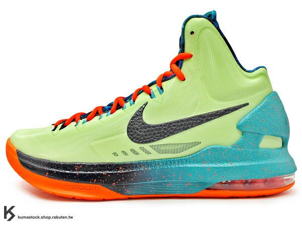 2013 ALL-STAR GAME 休士頓 AREA 72 明星賽 限量發售 NBA 得分王 NIKE KD V 5 AS ALL STAR 綠橘 太空 雷霆隊 雷帝 Kevin Durant 代言簽名鞋款 (583111-300) !