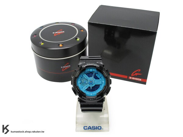 2013 超高人氣 秒殺款式 日本限定款 CASIO G-SHOCK GA-110B-1A2DR 黑藍 亮面 !