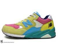 New Balance 美國慢跑鞋/跑步鞋推薦奇蹟入荷 New Balance x Mita x real mad HECTIC MT580 CMY 12代 七彩 亮黃 桃紅 綠色中底 麂皮