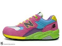 New Balance 美國慢跑鞋/跑步鞋推薦New Balance x Undefeated x Stussy x real mad HECTIC MT580 PU 四品牌聯名 第一彈