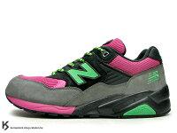 New Balance 美國慢跑鞋/跑步鞋推薦奇蹟入荷 New Balance x Mita x real mad HECTIC MT580 PBG 14代 黑灰 桃紅 螢光綠配色 !