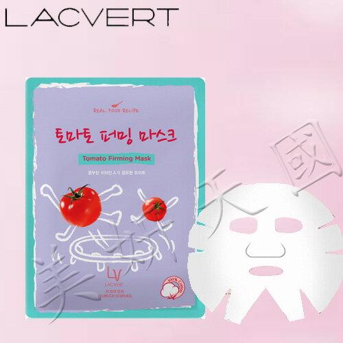 韓國原裝 ~LG化妝品 LACVERT『自然主義-蕃茄保濕精華液面膜』