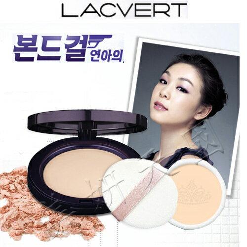 韓國原裝 ~LG LACVERT『 UNA保濕粉餅 』(一組有2個粉餅芯) 21號明亮色