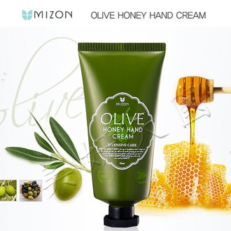 韓國原裝~MIZON『天然橄欖 蜂蜜護手霜 』50ML / 另有蝸牛霜