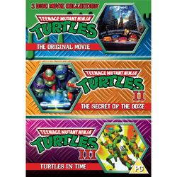 Teenage Mutant Ninja Turtles: The Movie Collection (3 Discs)