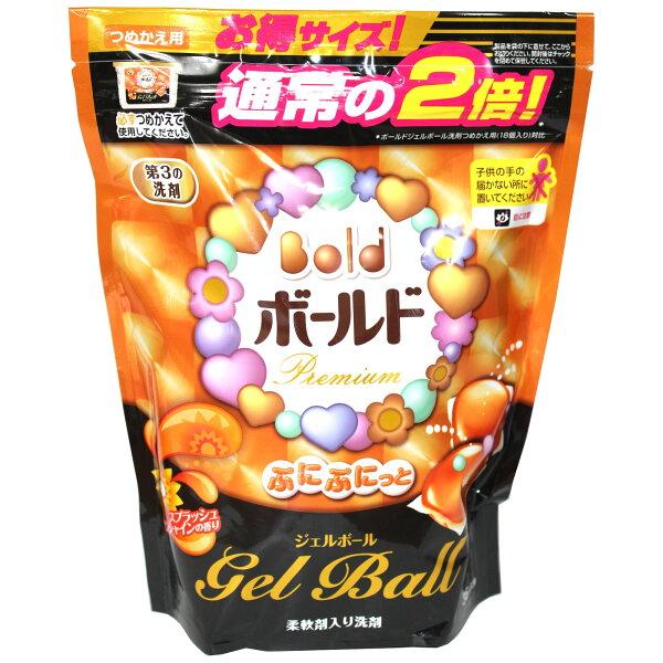 日本 P&G Bold 洗衣膠球-陽光橘袋裝 36枚 874g