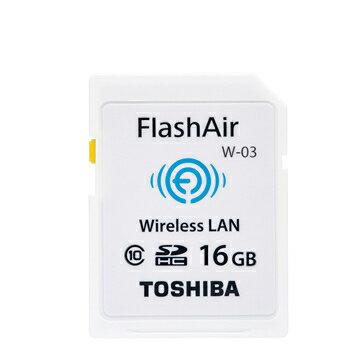 可傑 TOSHIBA 東芝 FlashAir WIFI 16G SDHC 記憶卡 原廠公司貨 CLASS10 C10