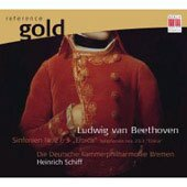"EDEL/Berlin 海恩里希.席夫(Heinrich Schiff)/黃金典藏系列3 - 貝多芬:第二、三號交響曲[Beethoven: Symphonies nos. 2 & 3 ""Eroica""]【1CD】"