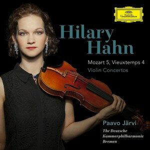 DG 希拉蕊韓(HILARY HAHN)/莫札特:第5號小提琴協奏曲、魏歐當:第4號小提琴協奏曲(Mozart:Violin Concert No.5, Vieuxtemps:Violin Concerto No.4)【1CD】