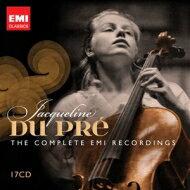 【小閔的古典音樂世界】 EMI 杜普蕾EMI錄音全紀錄《2012紀念限量套裝》[Jacqueline Du Pré: The Complete EMI Recordings]【17CDs】