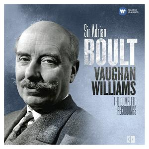 Warner 鮑爾特指揮佛漢威廉士[Adrian Boult conducts Vaughan Williams - The Complete EMI Recordings]【13CDs】