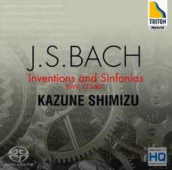 ~小閔的古典音樂世界~TRITON 清水和音^(Kazune Shimizu^) 巴哈: