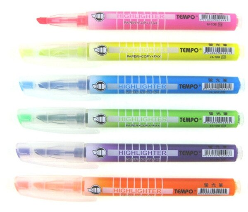 TEMPO 節奏 H-106 螢光筆 / 支