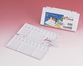 進大 JD-B-03 20 色長方型水彩盤 PALETTE / 個