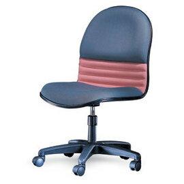 潔保 C-03-1G 氣壓式 高級防火布 透氣皮辦公椅 / 張