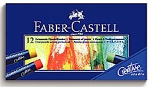 ~FABER~CASTELL~輝柏 127012  工坊油性粉彩條 12色