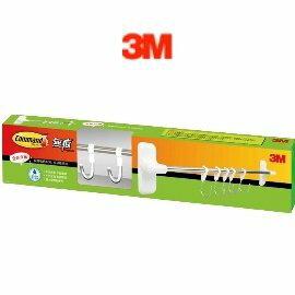 3M  17656  Command無痕廚房收納系列 - 多功能排鉤 / 組