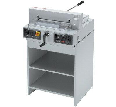 IDEAL 4215 電動裁紙機 LED (不附腳架‧木櫃)(430mm)(400張) / 台