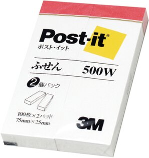 【3M】500W 利貼 可再貼標籤紙系列