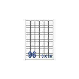 裕德 U4100電腦列印標籤96格30.5X16.9mm-20張入 / 包