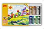 【Pentel飛龍】PHN7-12  12色 粉蠟筆