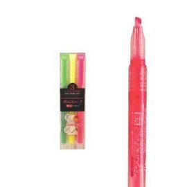 【斑馬】WKP1 SPARKY-1 直液式光記號筆 3色組