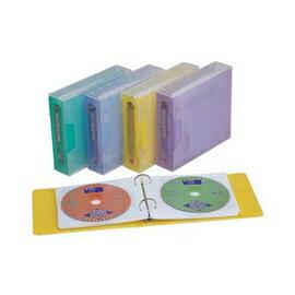 【連勤】LC-224 PP二孔24入CD保存夾附外盒 /個