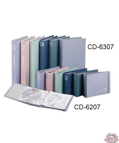 【雙鶖FLYING】CD-6307金禾皮四孔CD 保存外夾