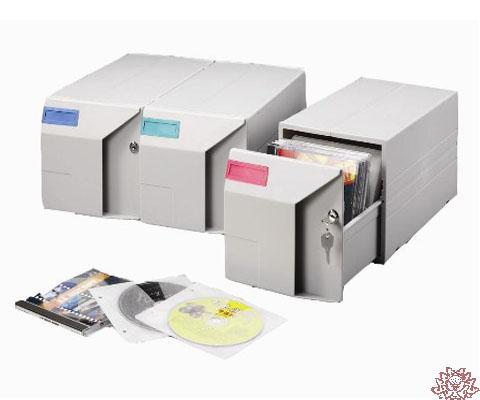 【雙鶖FLYING】CD-150B組合式CD整理盒150片裝 / 個
