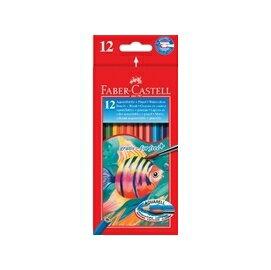【FABER-CASTELL】輝柏 水性彩色鉛筆 12色 #114413