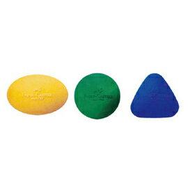 【FABER-CASTELL】輝柏 可愛貝貝橡皮擦圓形三色 #189022