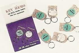 TA TA K-1A 10支備用鑰匙圈 / 盒