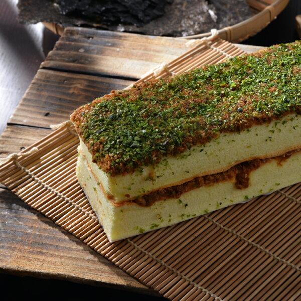 【台中郭記】日式海苔肉鬆蛋糕 ★2016蘋果日報母親節蛋糕評比 第一名★