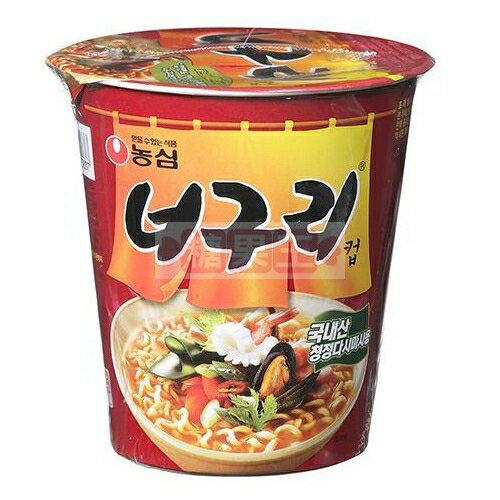 韓國泡麵 農心 昆布海鮮杯麵 (辣味)