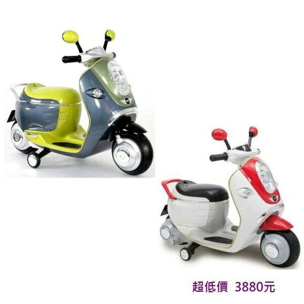 *美馨兒* 兒童電動車 - BMW MINI E-SCOOTER 電動摩托車(二色可挑) 3880元