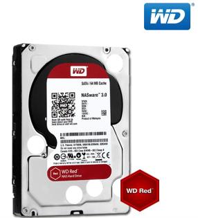 ★綠G能★全新免運★ WD40EFRX 紅標 4T SATA NAS專用硬碟(NASware3.0) 64MB 快取記憶體  5400RPM  三年保固