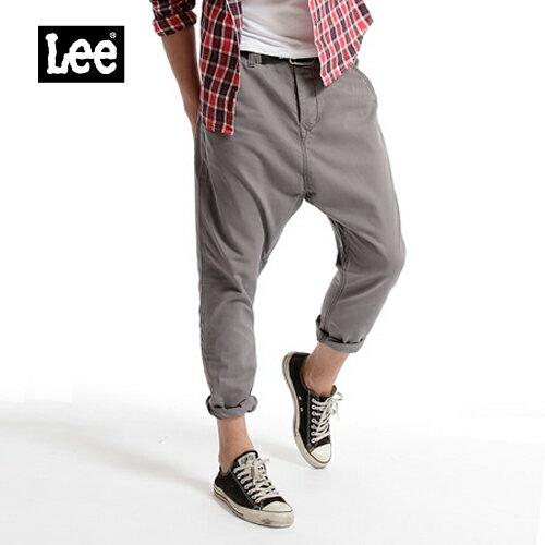~Super Sales 褲款下殺↘1.5折~LEE 休閒褲 ^(灰色^) ~  好康折扣