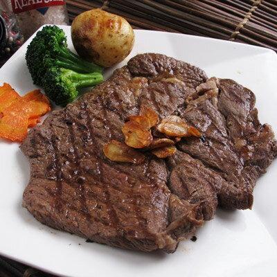 美國安格斯★八盎司沙朗牛排★大理石油花分佈均勻,肉質細嫩~##A0001