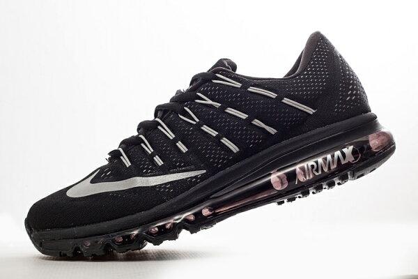 Nike Air Max 2016 氣墊跑鞋 全黑 男鞋