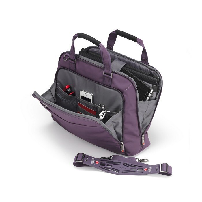 iStay Ladies Non-Slip Laptop Bag 15.6 inch (purple) 1