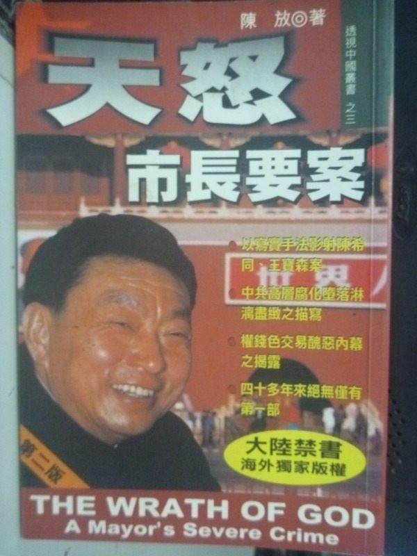 ~書寶 書T2/政治_HCI~天怒~市長要案_陳放