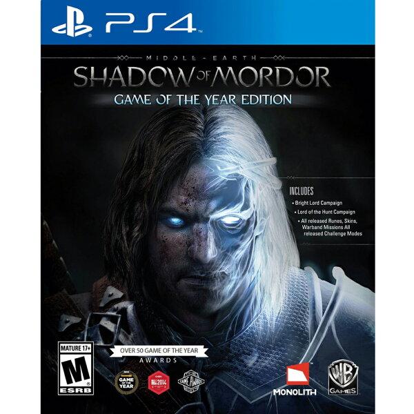 (全新盒損)PS4 中土世界 魔多之影 年度完整版 英文美版 MIDDLE EARTH SHADOW