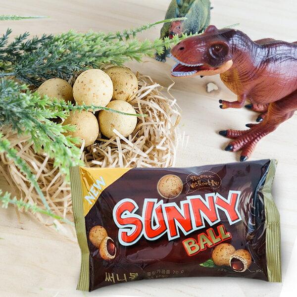 韓國進口 恐龍蛋造型巧克力餅70g - 限時優惠好康折扣