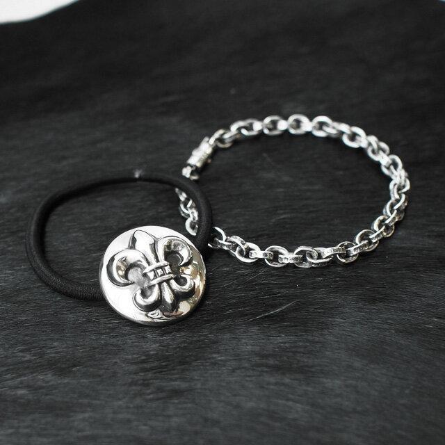 【海外訂購】【Chrome Hearts】Paper chain 鎖鍊型純銀手鍊 18cm (CHB-059-7 0223610000) 4