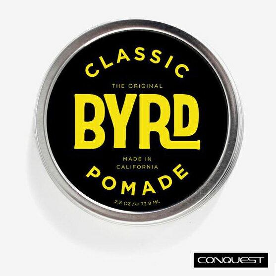【 CONQUEST 】BYRD CLASSIC Pomade 油性髮油 蠟性髮油 Suavecito Reuzel