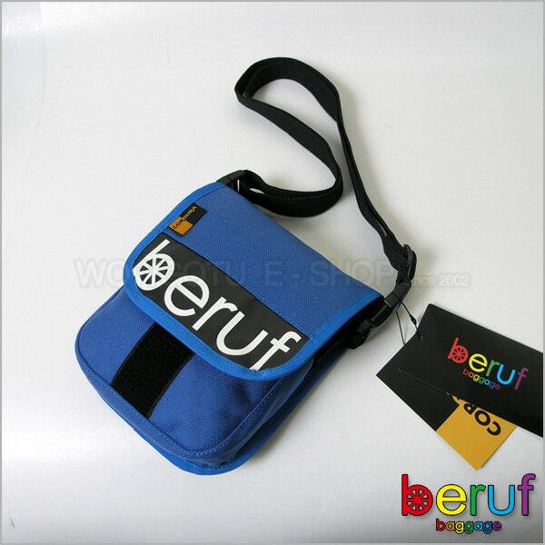 【 BERUF 】與眾不同.日本最激潮貨Messenger Bag - 11S 藍色 - 好評發售中